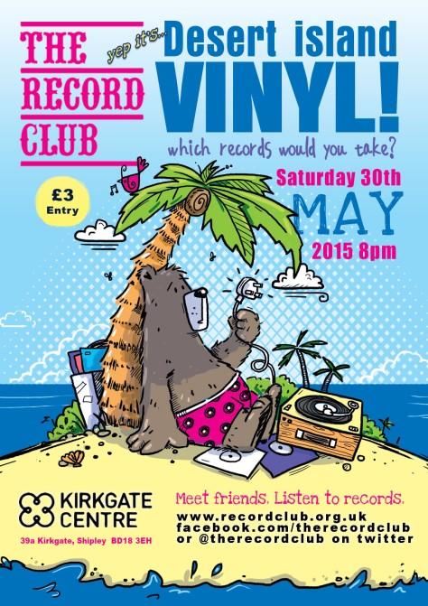 Record Club Desert Island Vinyl