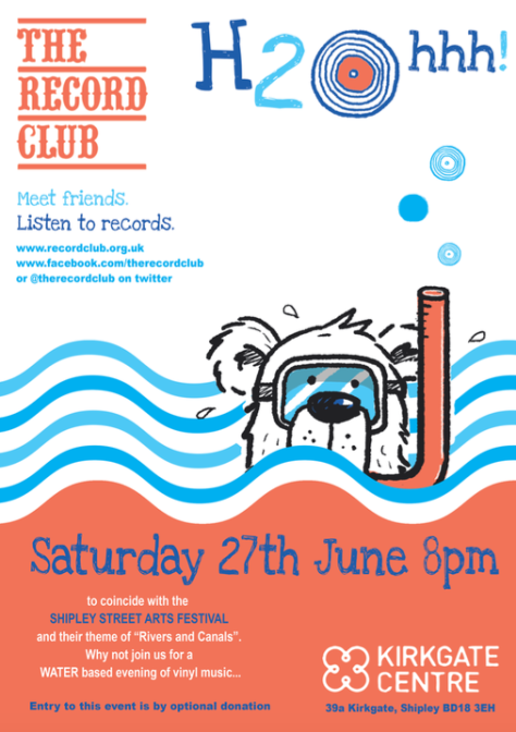 H2Ohhh Shipley Record Club June 2015