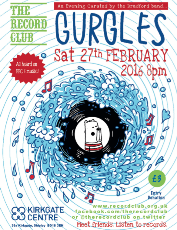 Gurgles – Saturday 27th February 2016