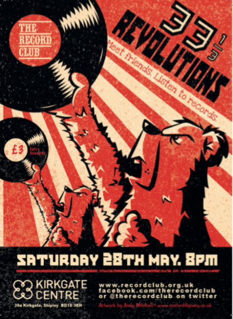 33 1/3 Revolutions Record Club